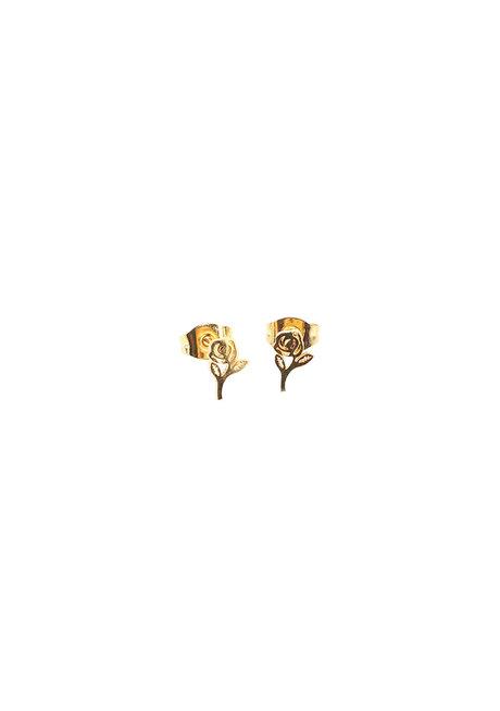 Rose Earrings by Znapshop