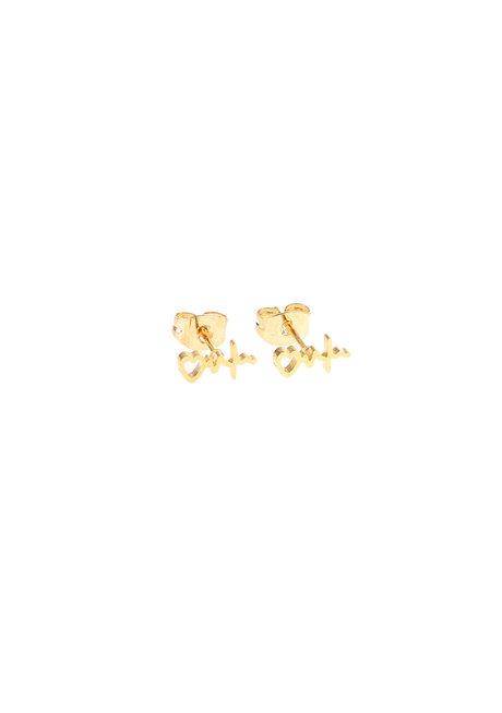 Heartbeat Earrings by Znapshop