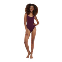 Sundae Sassy Openside One Piece (Plum) by Sundae
