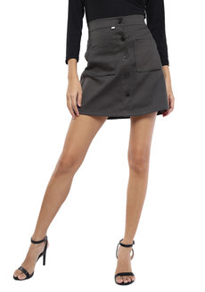 Two Pocket A-line Skirt by The Fifth Clothing