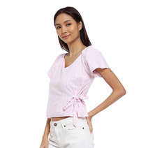 Vivien Side Tie Top by Prim and Proper