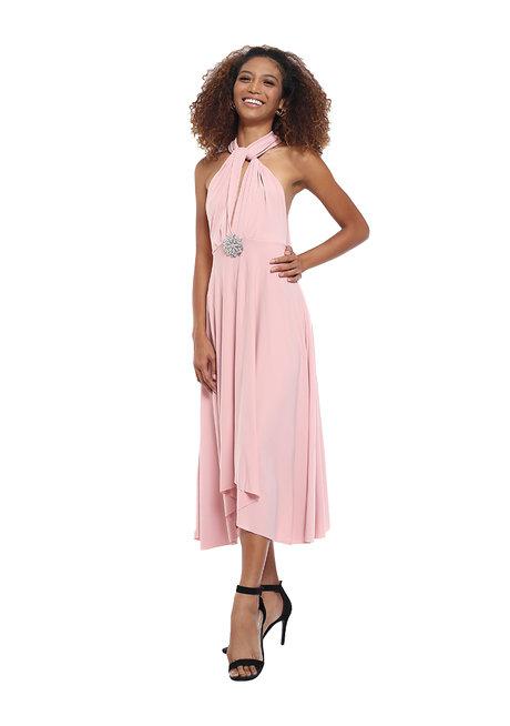 Abby Midi Infinity Dress by Frassino Collezione