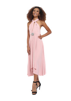Abby Midi Infinity Dress by Frassino Collezione