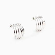 Half Loop Earrings by Luxe Studio