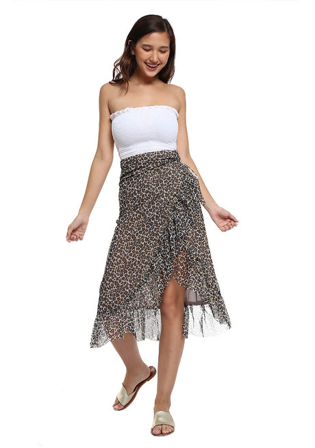 Salma Mesh Skirt by Style Ana