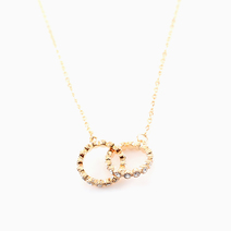 Two-Ring Necklace by Luxe Studio