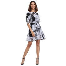Jimena Ruffle Dress by Chelsea