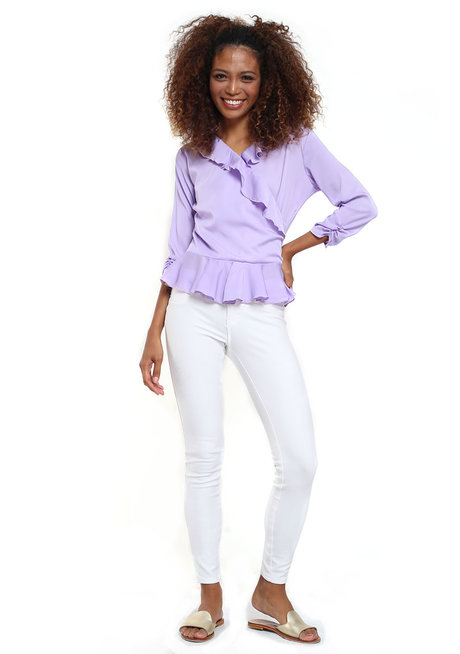 Magdalene Ruffle Top by Chelsea