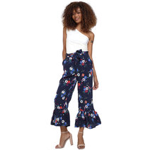 Maricella Printed Pants by Chelsea
