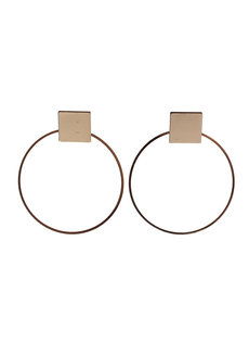 Onyx Hoop Earrings by Moxie PH