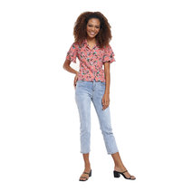 Floral Resort Shirt by Glamour Studio