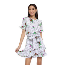 Ella Ruffled Dress by Chelsea