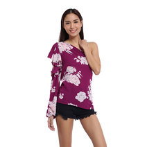 Natividad Asymmetrical Top by Chelsea