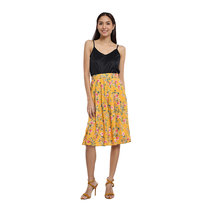 Loretta Pleated Midi Skirt by Chelsea