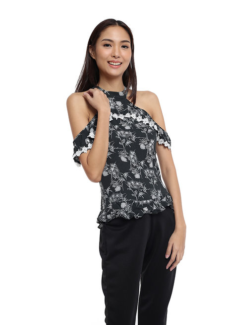 Maitea Cold Shoulder Top by Chelsea