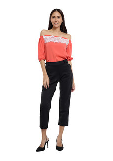 Gala Lace Off-Shoulder Top by Chelsea