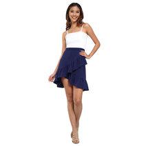 Kemina Ruffled Mini Skirt by Chelsea