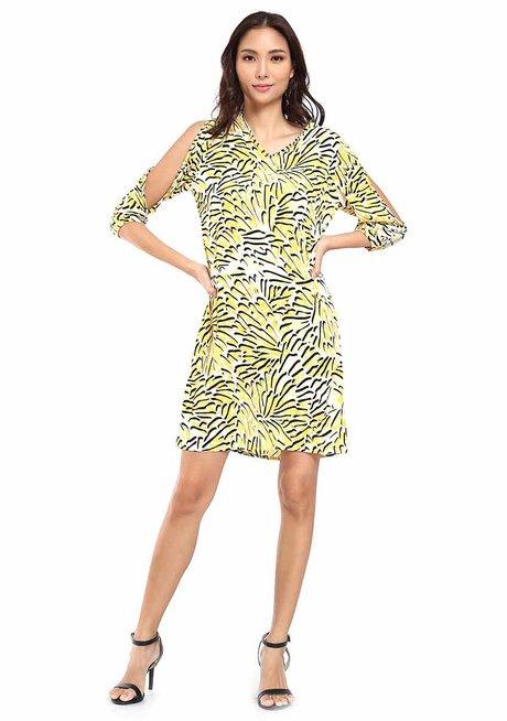Dulcea Cold-Shoulder Shift Dress by Chelsea