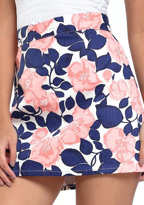 Linda A-Line Mini Skirt by Chelsea