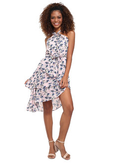 Imelda Layered Halter Dress by Chelsea