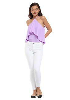 Leala Layered Halter Top by Chelsea