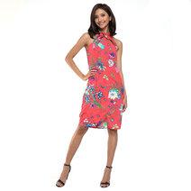 Marcela Halter Slit Dress by Chelsea