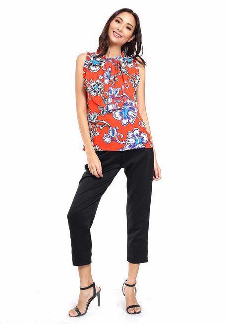 Laurencia Turtle Neck Top by Chelsea