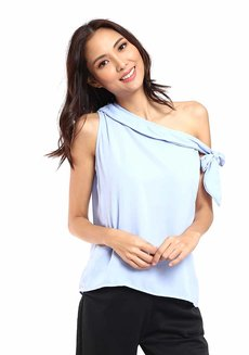 Lela Asymmetrical Top by Chelsea