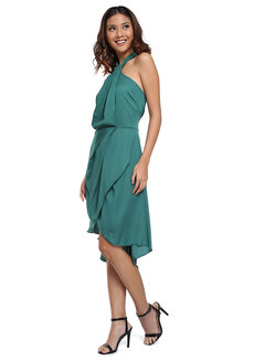 Llesenia Halter Drape Dress by Chelsea