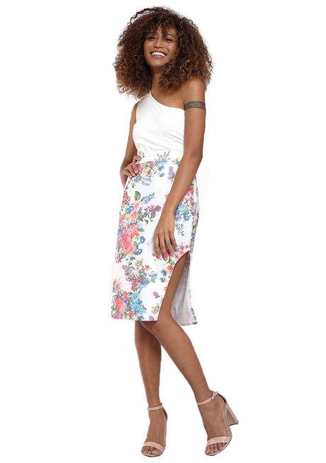 Lalia Slide Slit Pencil Skirt by Chelsea