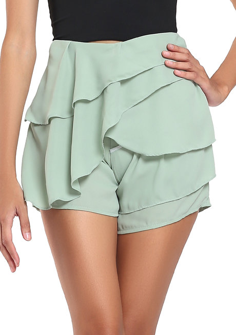 Dulce Flounce Shorts by Chelsea