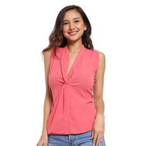 Lucila Sleeveless Knot Top by Chelsea