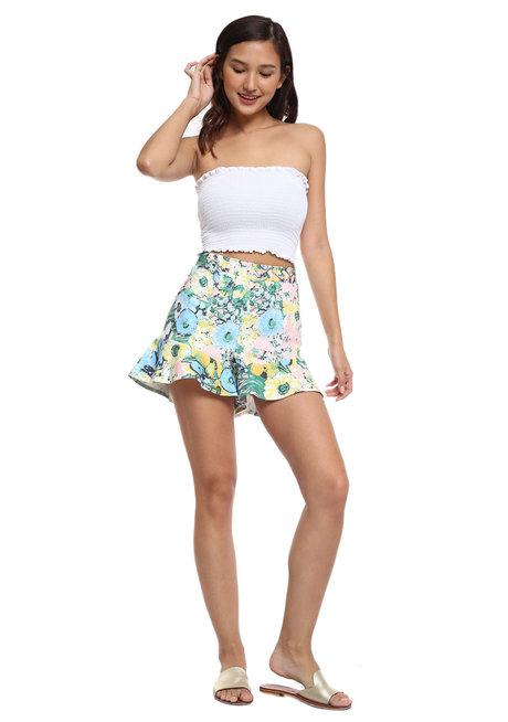 Legarre Flounce Shorts by Chelsea