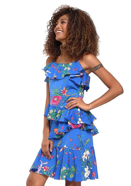 Dukine Layered Ruffle Dress by Chelsea