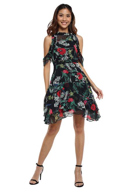 Felisa Cold Shoulder Dress by Chelsea