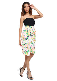 Nelia Drape Skirt by Chelsea