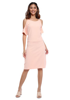 Dona Cold-Shoulder Dress by Chelsea