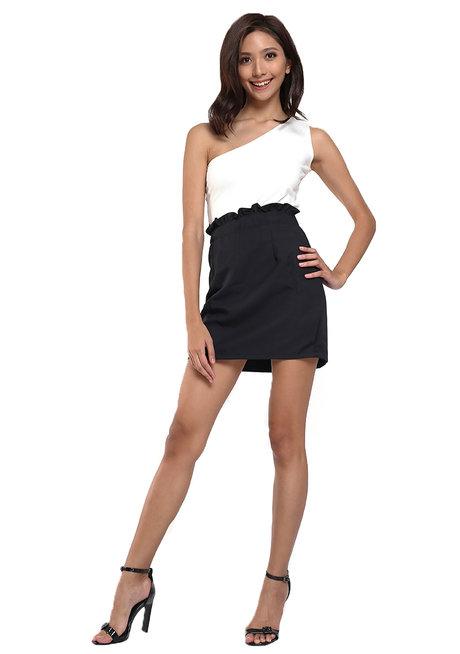 Lupita Ruffle Pencil Skirt by Chelsea