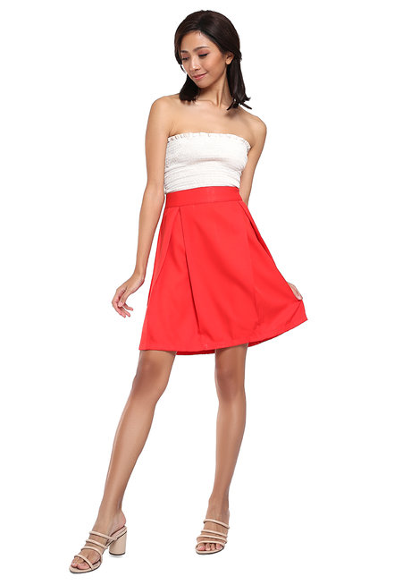 Lupe A-Line Skirt by Chelsea