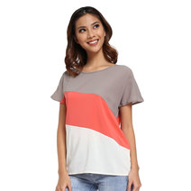 Alejandra Color Block Top by Chelsea