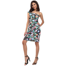 Dorinda One Shoulder Bodycon Dress by Chelsea