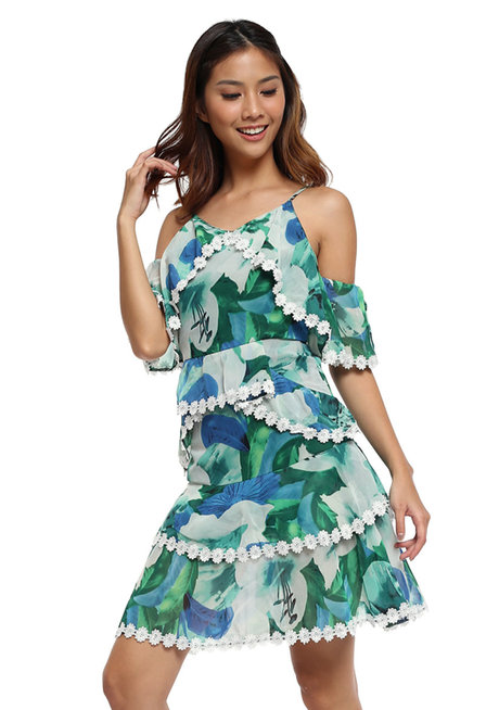Fidelia Layered Dress by Chelsea