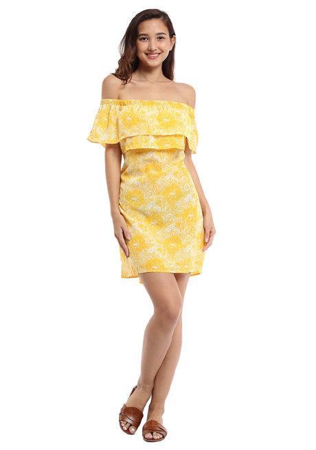 Alejandrina Off-Shoulder Dress by Chelsea