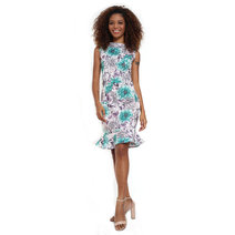 Dorotea Sleeveless Flounce Dress by Chelsea