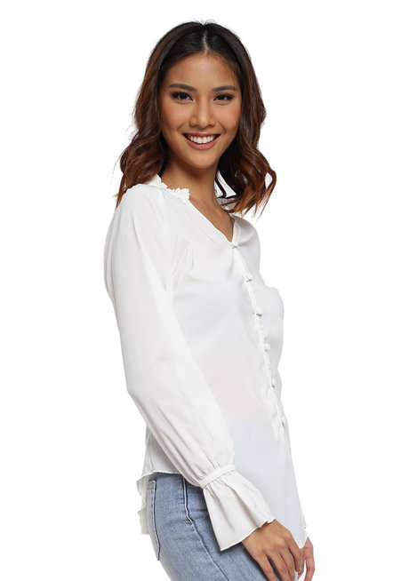 Nevada Button Down Top by Chelsea
