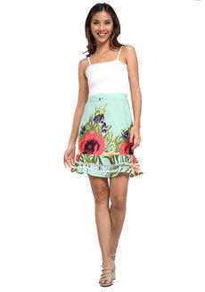 Iliana Flute Hem Skirt by Chelsea