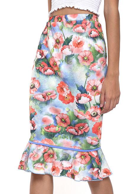 Nalda Flounce Skirt by Chelsea