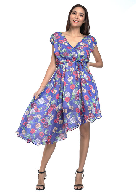 Jovina Asymmetrical Dress by Chelsea