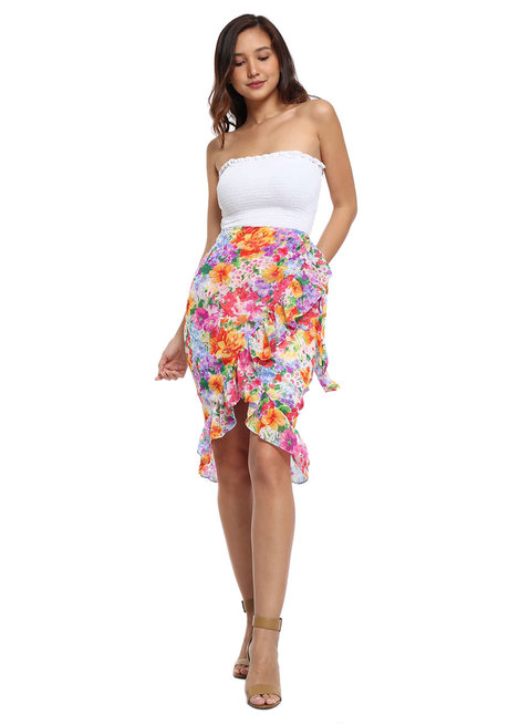 Leonor Ruffle Skirt by Chelsea
