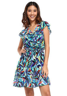 Maria Wrap Dress by Chelsea
